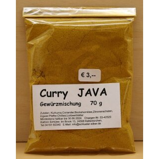 Curry JAVA Gewürzmischung